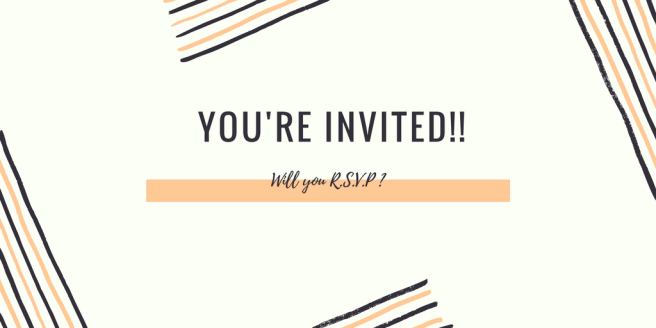 YOU'RE INVITED!!